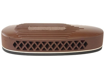 Pachmayr S325 Deluxe Skeet Recoil Pad 1.1&quot; Brown with White Line Medium with Ribbed Face