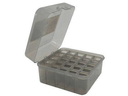 MTM Dual Gauge Flip-Top Shotshell Box 12 or 20 Gauge 2-3/4&quot; and 3&quot; 25-Round Plastic