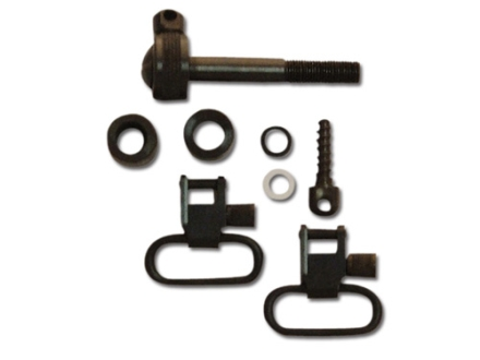"GrovTec Sling Swivel Studs with 1"" Locking Swivels Set Remington 760 and 7600 (Pre-1968) Steel Black"