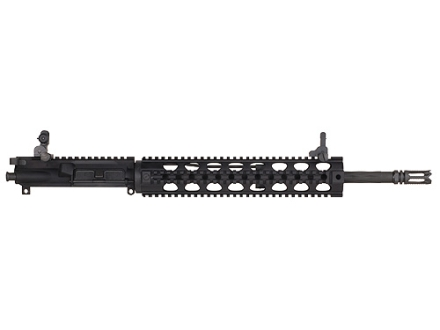 "Yankee Hill AR-15 Lightweight Specter XL Upper Assembly 5.56x45mm NATO 1 in 7"" Twist 16"" Fluted Barrel Chrome Lined with Quad Rail Free Float Handguard, Flip-Up Sights, Flash Hider"
