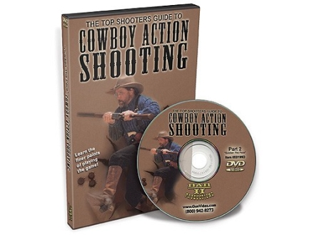 "Gun Video ""The Top Shooter's Guide To Cowboy Action Shooting: Volume 2"" DVD"
