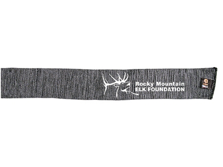 "Rocky Mountain Elk Foundation Rifle and Shotgun Gun Sock Silicone-Treated Polyester 52"" Gray"