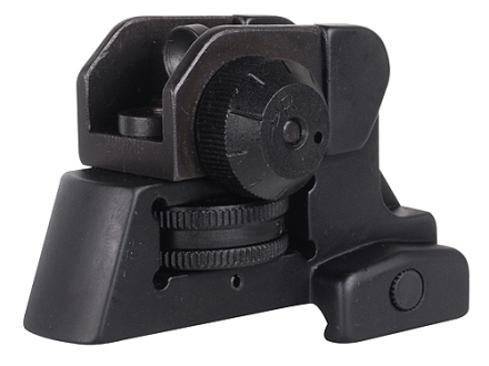 NcStar Detachable Rear Sight A2-Style AR-15 Aluminum Matte