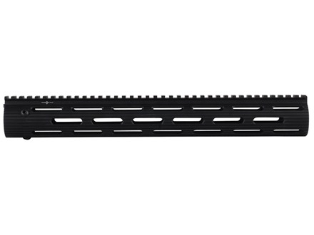 "Troy Industries 15"" VTAC Alpha Battle Rail Modular Free Float Handguard AR-15 Black"