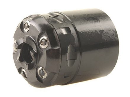 Howell's Old West Semi Drop In Conversions Drop-In Conversion Cylinder 44 Caliber Uberti 1860 Army Steel Frame Black Powder Revolver 45 Colt (Long Colt) 5-Round Blue