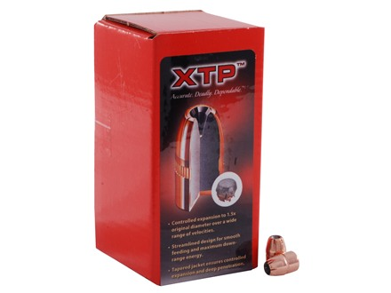 Hornady XTP Bullets 38 Caliber (357 Diameter) 125 Grain Jacketed Hollow Point Box of 100