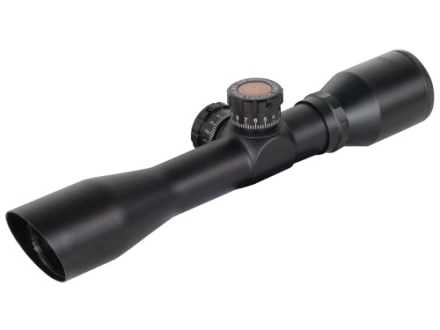 TRUGLO Tru-Brite Xtreme Tactical Rifle Scope 4x 32mm Mil-Dot Matte with Weaver-Style Rings