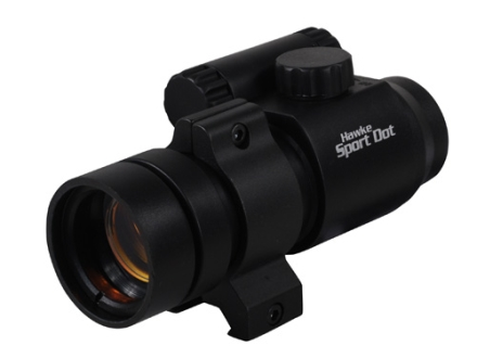 Hawke Sport Dot Red Dot Sight 30mm Tube 4 MOA Dot with Weaver-Style Mount Matte