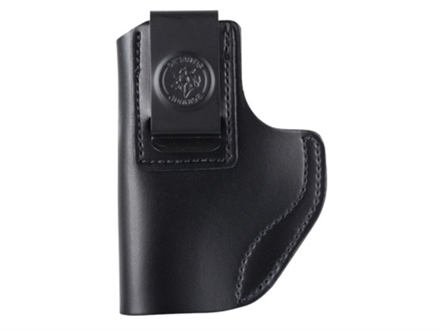 DeSantis Insider Inside the Waistband Holster Left Hand Smith &amp; Wesson M&amp;P Shield Leather Black