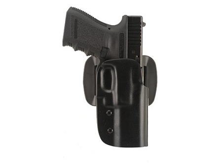 "Blade-Tech DOH Dropped and Offset Belt Holster Right Hand Springfield XD Service 4"" ASR Loop Kydex Black"
