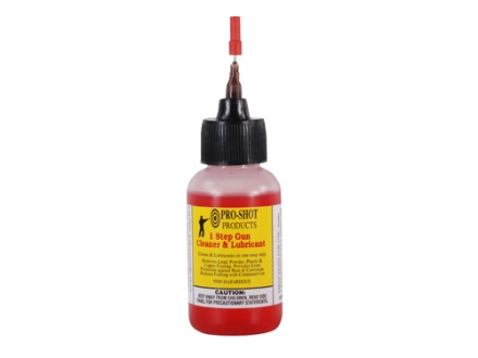 Pro-Shot 1-Step Bore Cleaning Solvent and Lubricant 1 oz Needle Bottle