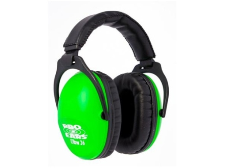 Pro Ears ReVO Earmuffs (NRR 26 dB) Neon Green