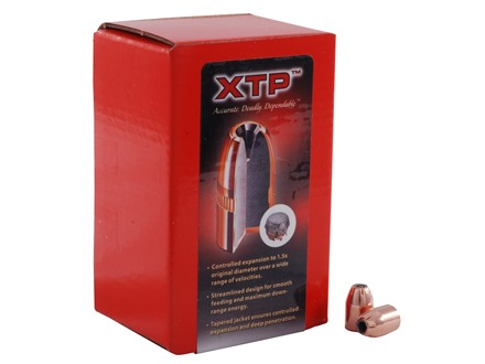 Hornady XTP Bullets 40 S&amp;W, 10mm Auto (400 Diameter) 180 Grain Jacketed Hollow Point Box of 100