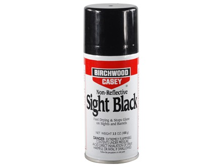 Birchwood Casey Sight Black 3-1/2 oz Aerosol