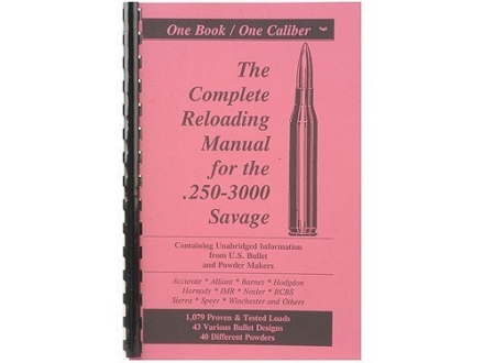 Loadbooks USA &quot;250 Savage&quot; Reloading Manual