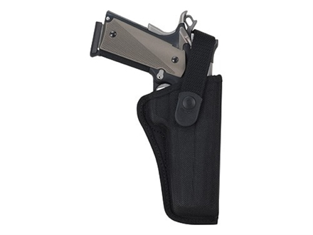 Bianchi 7000 AccuMold Sporting Holster Right Hand 1911 Government, Browning Hi-Power Nylon Black