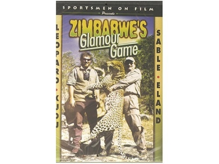 Sportsmen on Film Video &quot;Zimbabwe&#39;s Glamour Game: Leopard, Eland, Sable, Kudu&quot; DVD