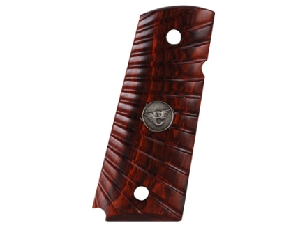 Wilson Combat Grips 1911 Government, Commander Starburst Cocobolo