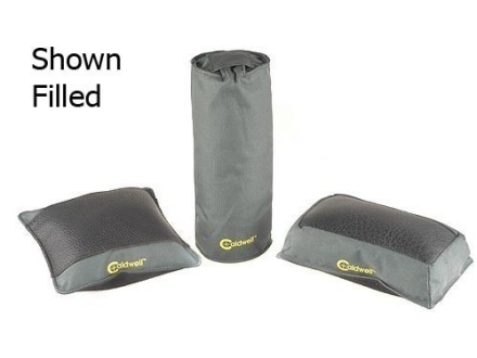 Caldwell Universal Deluxe Bench Bag Combination (Elbow, Optimizer, Tall Boy) Nylon and Leather Unfilled