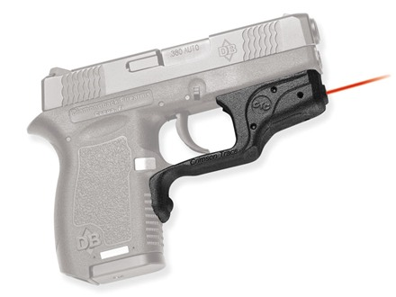 Crimson Trace Laserguard Diamondback DB380 Polymer Black