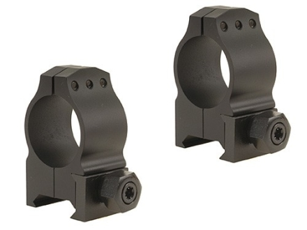 Warne 1&quot; Tactical Picatinny-Style Rings Matte Medium