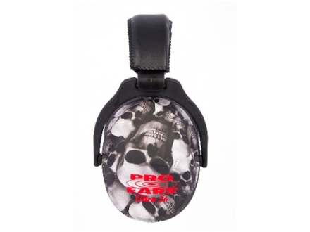 Pro Ears ReVO Earmuffs (NRR 26 dB) Skulls