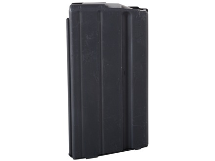 AR-Stoner Magazine AR-15 6.8mm Remington SPC 17-Round Straight Body with Anti Tilt Follower Stainless Steel Black