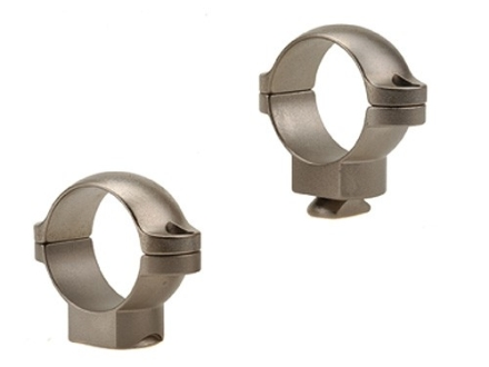 "Leupold 1"" Standard Rings Silver Medium"