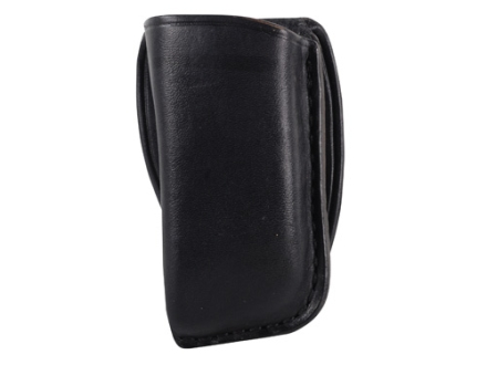 El Paso Saddlery Single Magazine Pouch Double Stack 45 ACP, 10mm Magazine Leather Black