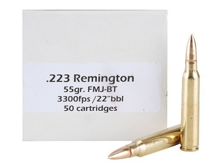 Doubletap Ammunition 223 Remington 55 Grain Full Metal Jacket Boat Tail Box of 50