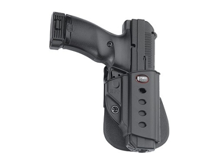 Fobus Evolution Paddle Holster Right Hand H&K USP Full Size 45 ACP, Tactical Polymer Black