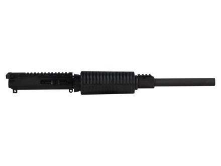 "DPMS AR-15 Lo-Pro Flat-Top Upper Assembly 5.56x45mm NATO 1 in 9"" Twist 16"" Bull Barrel Chrome Moly Matte with GlacierGuard Handguard"