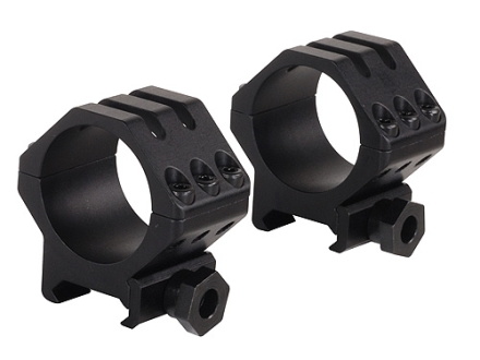 Weaver 30mm Tactical 6-Hole Weaver-Style Rings Matte Low