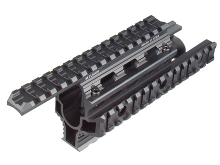 UTG Picatinny-Style Quad-Rail Mount Handguard Romanian AK-47 Matte