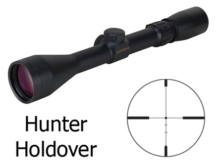 Sightron SII Rifle Scope 3-9x 42mm Hunter Holdover Reticle Matte