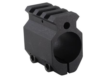 "EGW Gas Block Single Picatinny Rail Clamp-On AR-15, LR-308 Standard Barrel .875"" Inside Diameter"