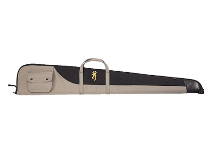"Browning Cimmaron Shotgun Gun Case 52"" Polyester Canvas Black and Tan"