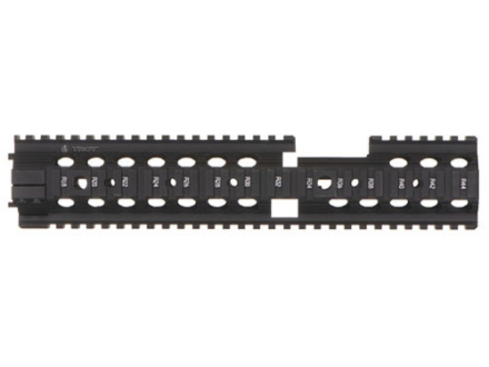 "Troy Industries 12"" MRF-CX Battle Rail Free Float Quad Rail Handguard AR-15 Extended Carbine Length Black"