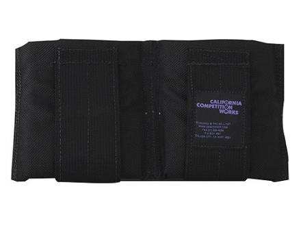 California Competition Works Double Magazine Pouch AR-10 20 Round Nylon Black