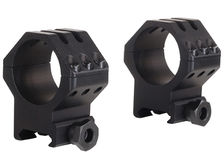 Weaver 30mm Tactical 6-Hole Picatinny-Style Rings Matte High