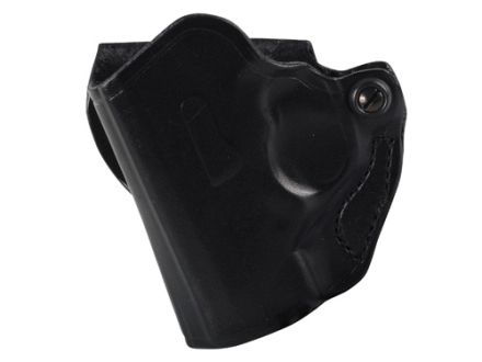 DeSantis Mini Scabbard Outside the Waistband Holster Left Hand Beretta Nano Leather Black