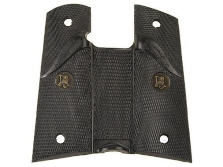 Pachmayr Signature Grips 1911 Government, Commander with Thumb Swell Rubber Black