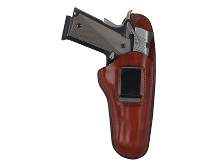 Bianchi 100 Professional Inside the Waistband Holster Right Hand Browning Hi-Power, 1911 Government Leather Tan