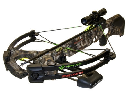 Barnett Penetrator Crossbow Package with 4x 32mm Multi-Reticle Scope Realtree APG Camo