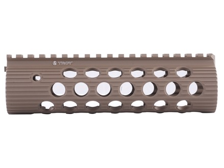 Troy Industries 7.2&quot; Alpha Battle Rail Modular Free Float Handguard AR-15