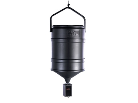 On Time Tomahawk VL 25 Gallon Hanging Game Feeder Combo