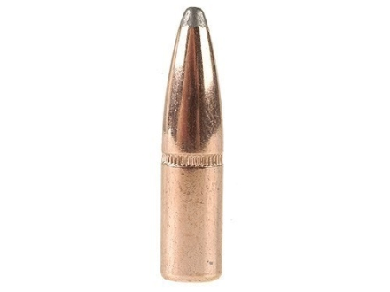Hornady InterLock Bullets 243 Caliber and 6mm (243 Diameter) 100 Grain Spire Point Flat Base Box of 100