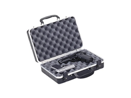 "Plano Gun Guard DLX Two Pistol Gun Case 13-3/4"" x 8-1/2"" x 3-7/8"" Polymer Black"
