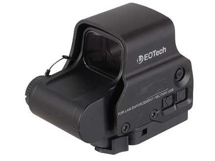 EOTech EXPS3-2 Holographic Weapon Sight 65 MOA Circle with (2) 1 MOA Dots Reticle Matte CR123 Battery
