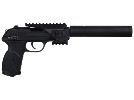 Gamo PT-85 SOCOM Air Pistol 177 Caliber with Blowback Quad Rail and Compensator Black